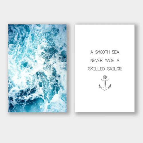 poster set sailor zee