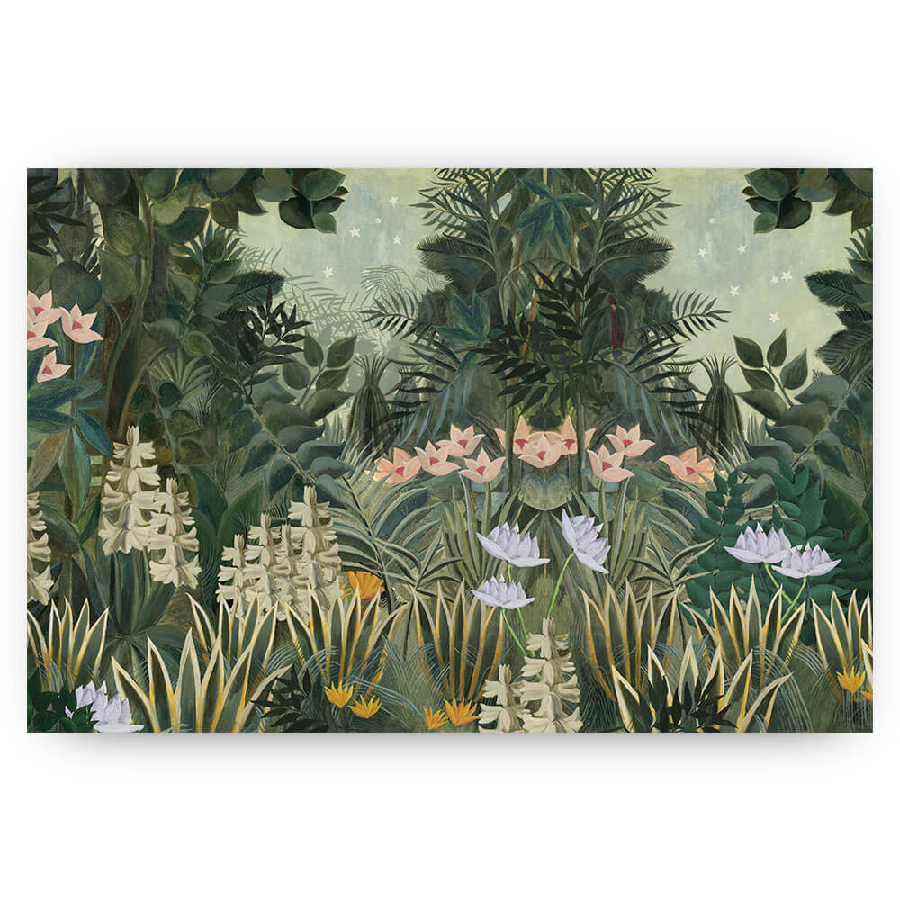 Schilderij illustratie jungle